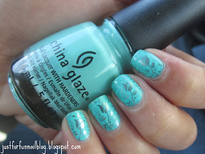 China Glaze - Too Yacht To Handle & Kiko 625