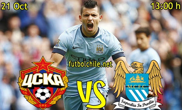 CSKA Moscow vs Manchester City - Champions League - 15:45 h - 20/10/2014
