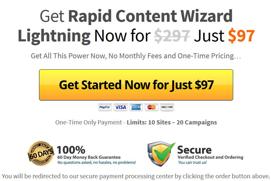 Rapid Content Wizard
