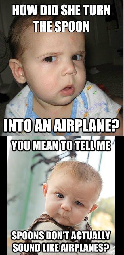 Skeptical Babies - Meme