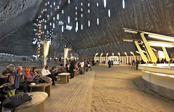 Natural wonders - Turda Salt Mine Romania