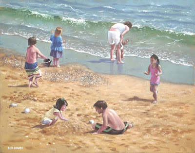 people_on_Bournemouth_beach_kids_playing_in_sand