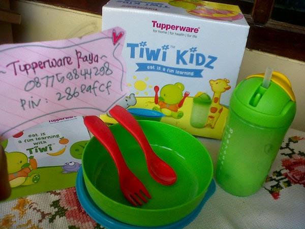 Tupperware Murah Tiwi Kids Wadah Bekal Anak