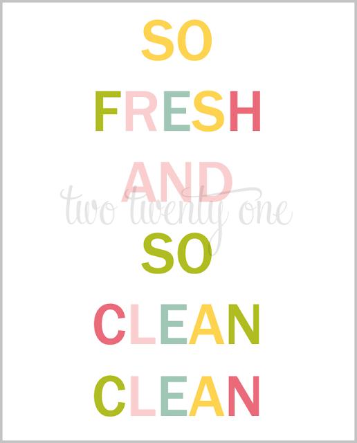 colorful bathroom printable free printable word art