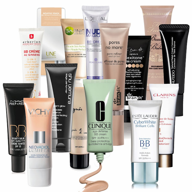 Difference Between BB Cream, CC Cream & DD Cream