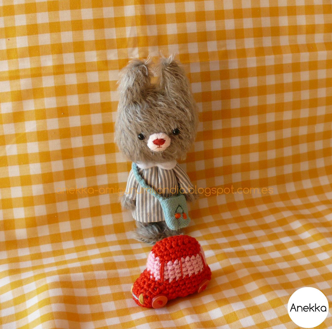 softie bear anekka handmade