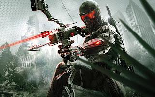 Crysis Bow Arrow Video Game HD Wallpaper Desktop PC Background