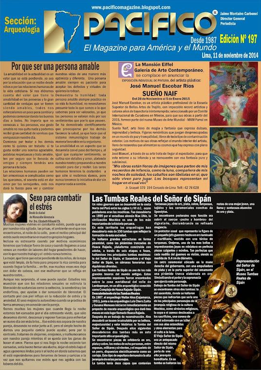 Revista Pacífico Nº 197 Arqueología