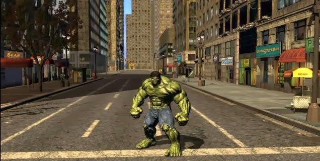 PC Game Incredible Hulk