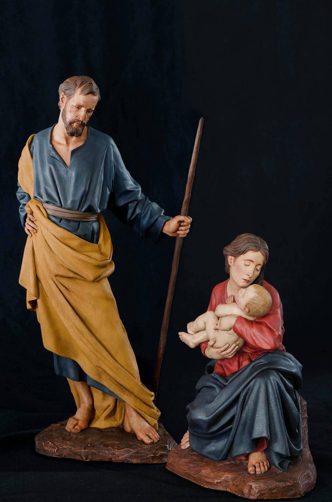 Nacimiento Belén Nativity presepe krippe Arturo Serra Barro cocido 1