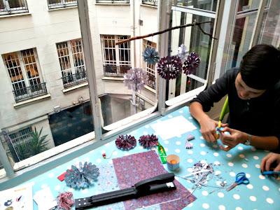 origami, julie adore, atelier, création