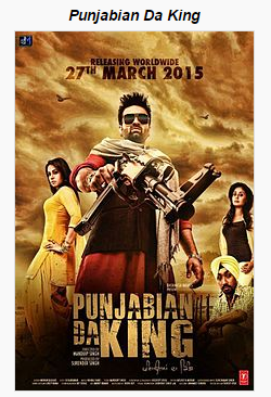 Punjabian Da King (2015) Full Punjabi Movie Download free in 3gp HD mp4 hq avi 720P