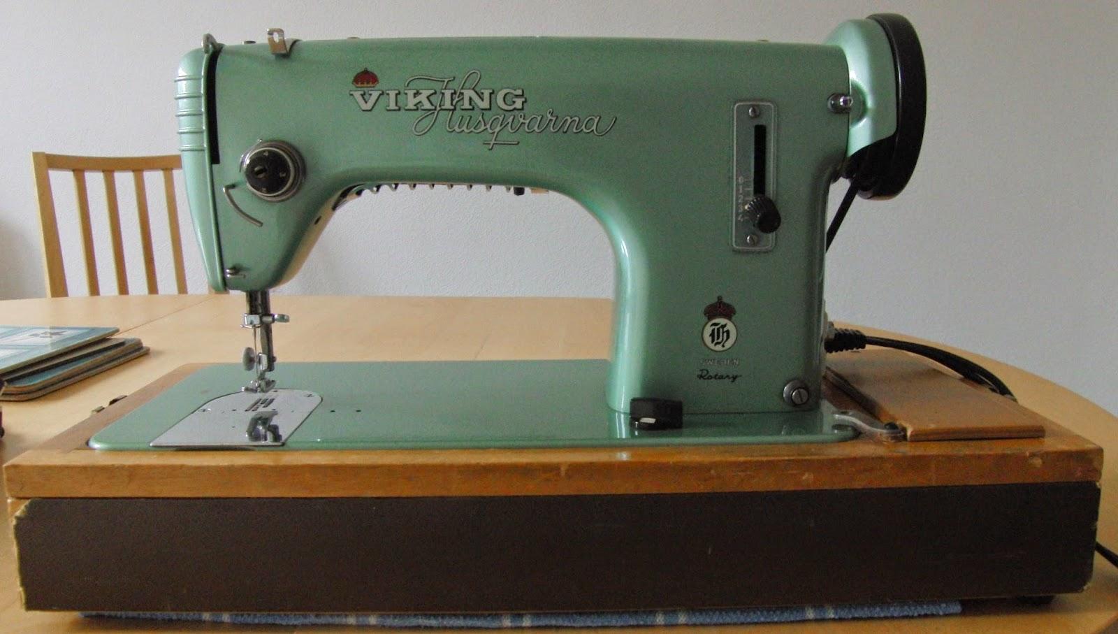 Machine à coudre vintage husqvarna viking