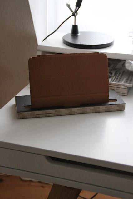 braune iPad Hülle