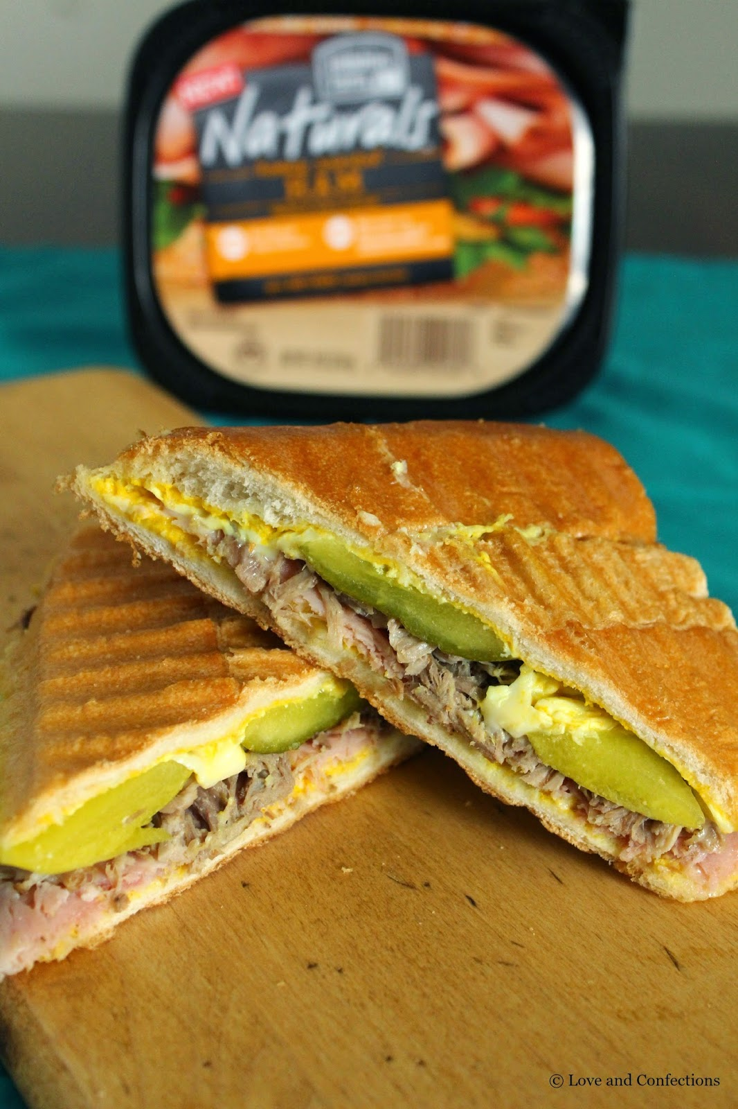 Pressed Cuban Sandwich from LoveandConfections.com
