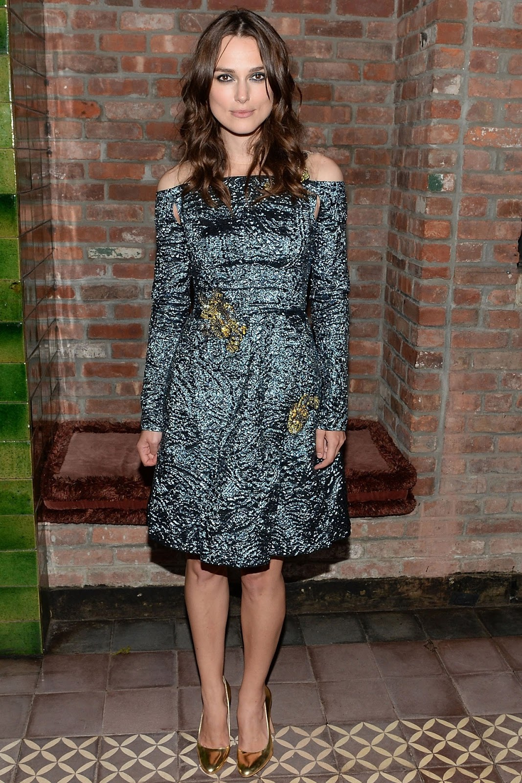 Keira Knightley in Erdem at Begin Again after party
