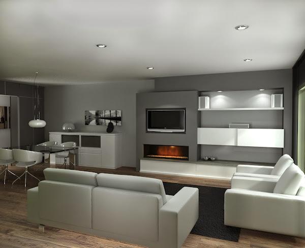 Chimeneas obra decorar tu casa es - Chimeneas minimalistas ...