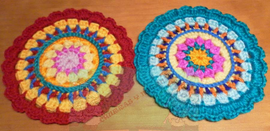Churras y Merinas Manualidades: Mándala Crochet
