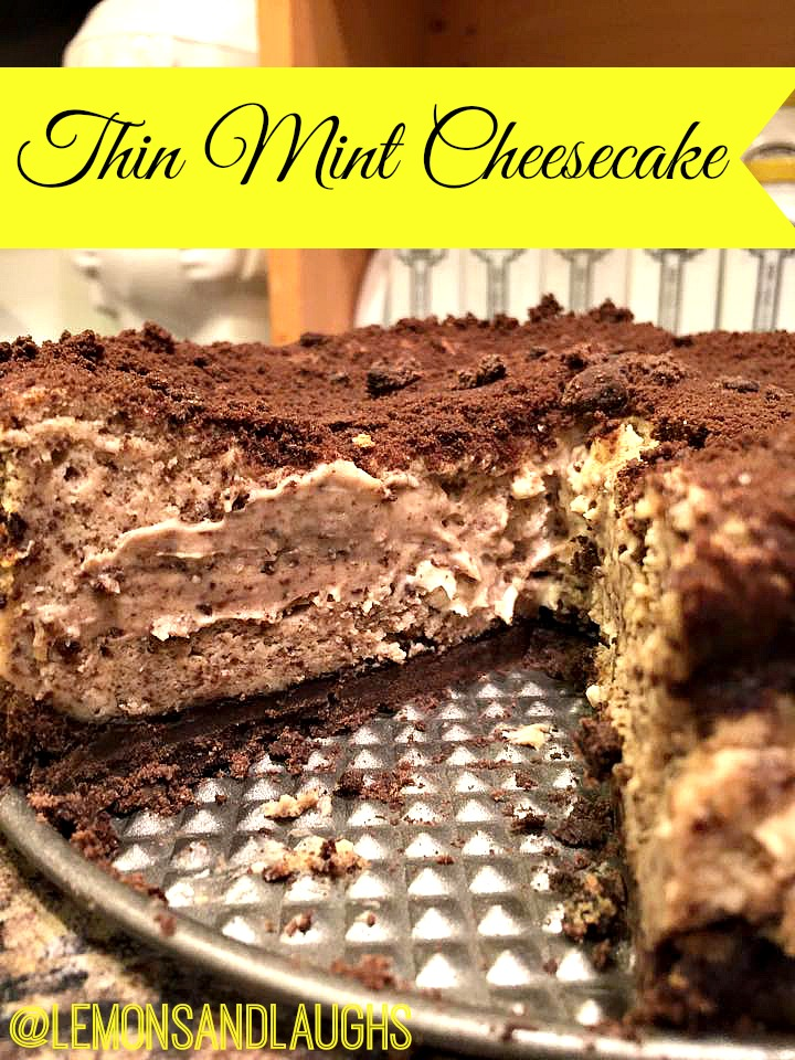 Girls Scout Cookies, Thin Mints, Cheesecake recipes