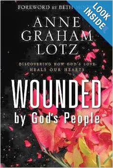 http://www.amazon.com/Wounded-Gods-People-Discovering-Hearts/dp/0310262895/ref=sr_1_1?ie=UTF8&qid=1393635396&sr=8-1&keywords=wounded+by+god%27s+people
