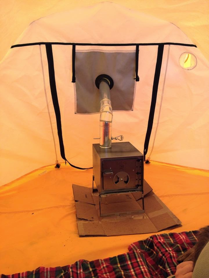 The stove is a simple non folding sheet metal type utilizing a 3  pipe. The stove is not airtight (none of these really are) but has a circular air control ... & Hodgemanu0027s Thoughts on The Great Outdoors: Shake- N- Bake.... the ...