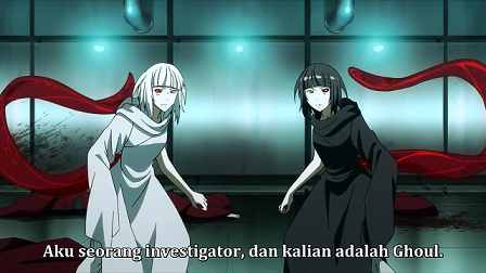 Kenapa Kurona dan Nashiro menjadi Ghoul tokyo ghoul