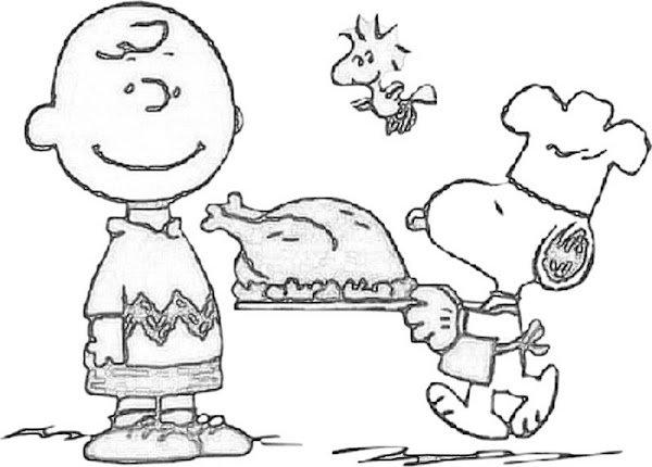 Charlie Brown Coloring Pages Printables