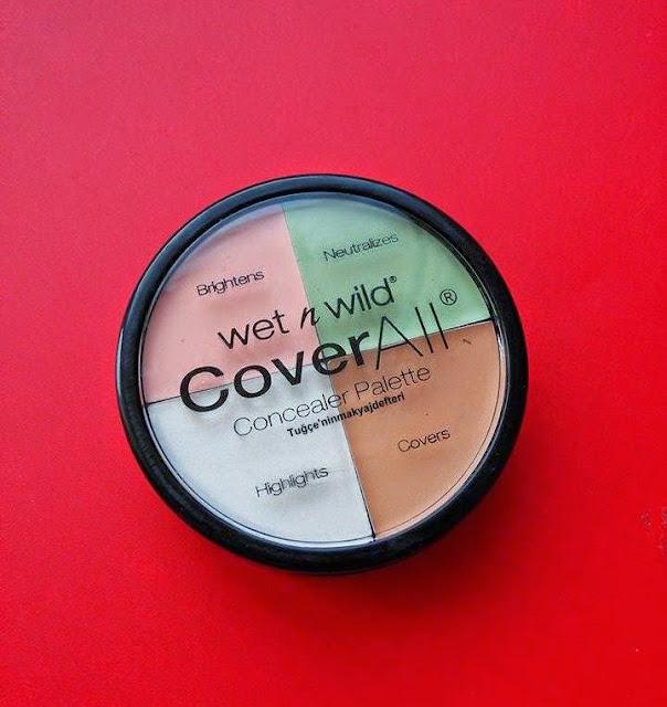 Wet'n Wild Coverall Kapatıcı Palet
