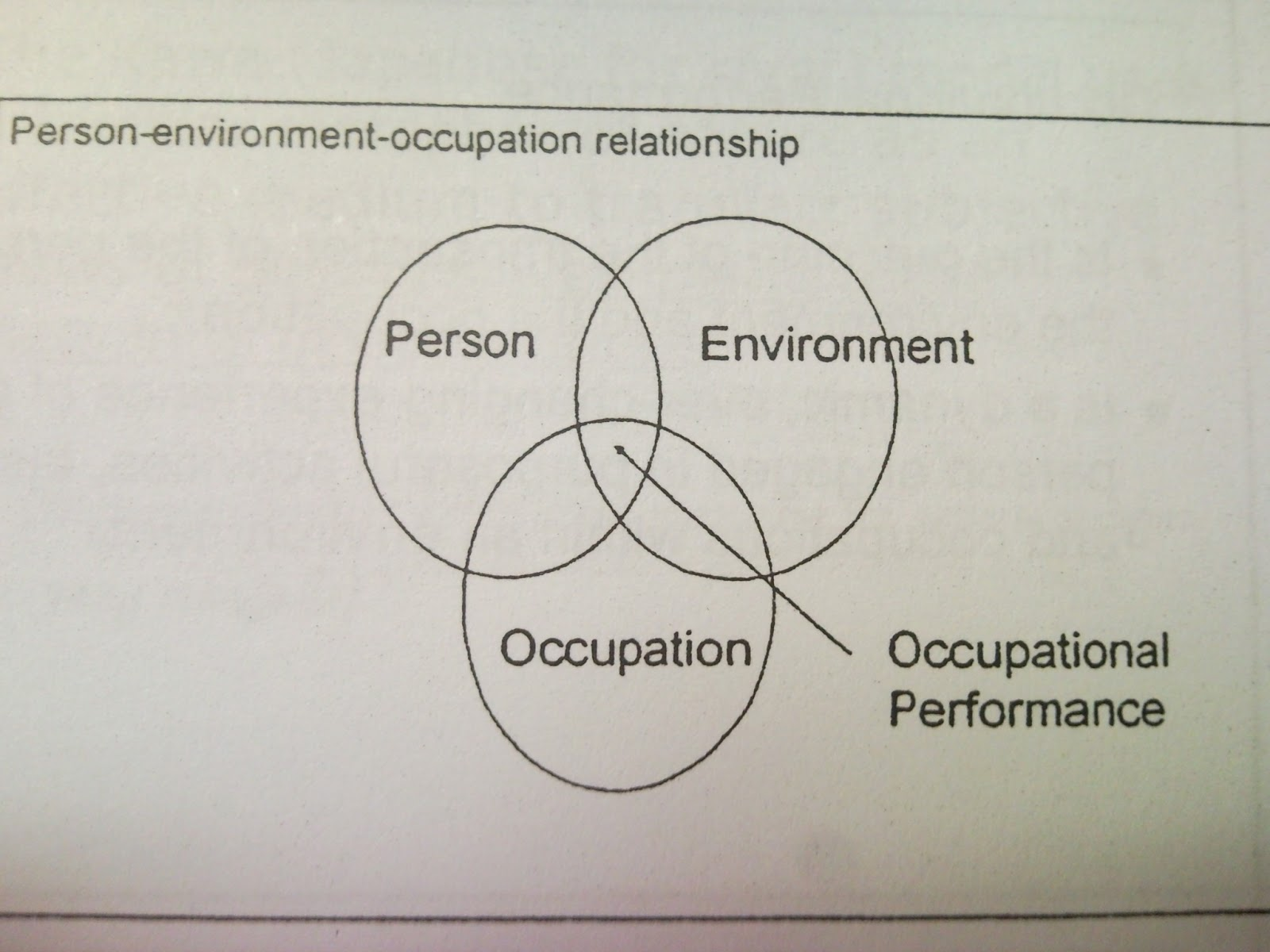 Mr. OccT: MODEL AND FRAME OF REFERENCE OCCUPATIONAL THERAPY