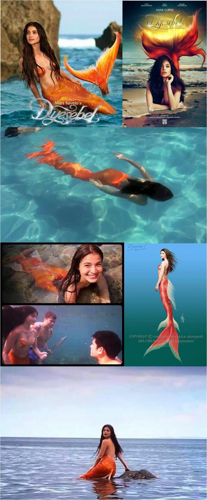 Anne Curtis' Dyesebel: What Color Should Her Mermaid Tail ...