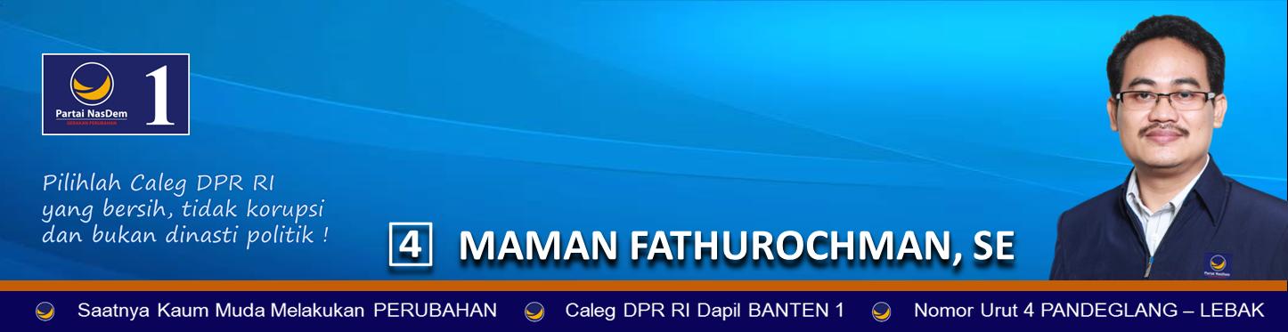 CALEG DPR RI DAPIL BANTEN 1