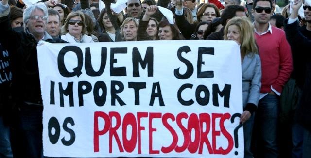 Professores: Declaração de repúdio pelas declarações de Pedro Passos Coelho