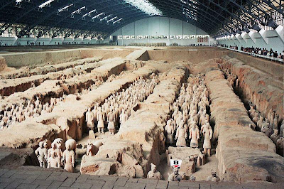 China uncovers ancient palace inside emperor's tomb