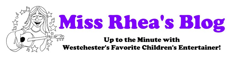 Miss Rhea's Blog