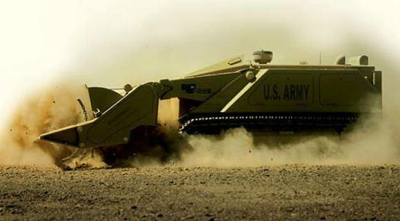 M160 MV-4 Kendaraan robot penghancur ranjau