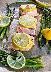 Slammin' Salmon & Asparagus One-Pan Wonder
