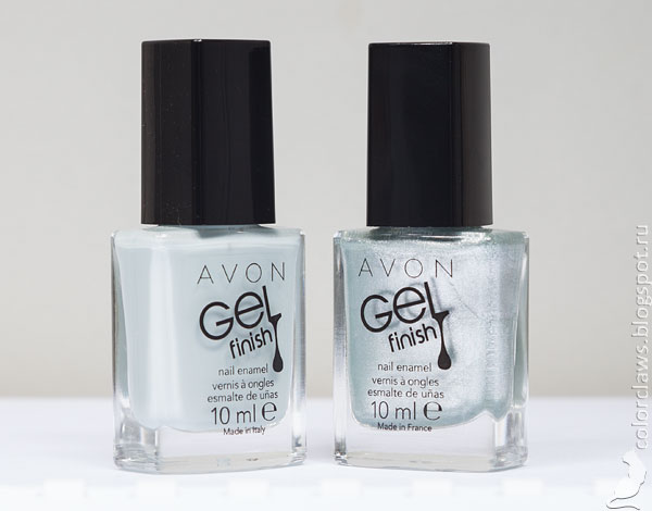 Avon Gel Finish Alaska + Snow Star