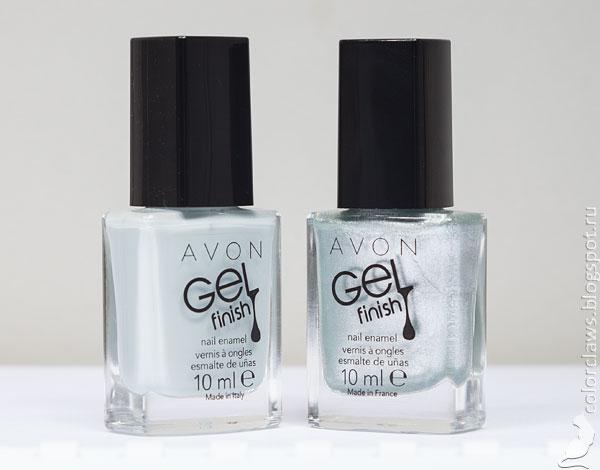 Avon Gel Finish Alaska + Snow Star