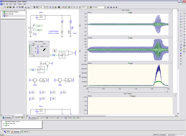 Character Generator Computer Aided Design : Pscad the electromagnetic transients software power