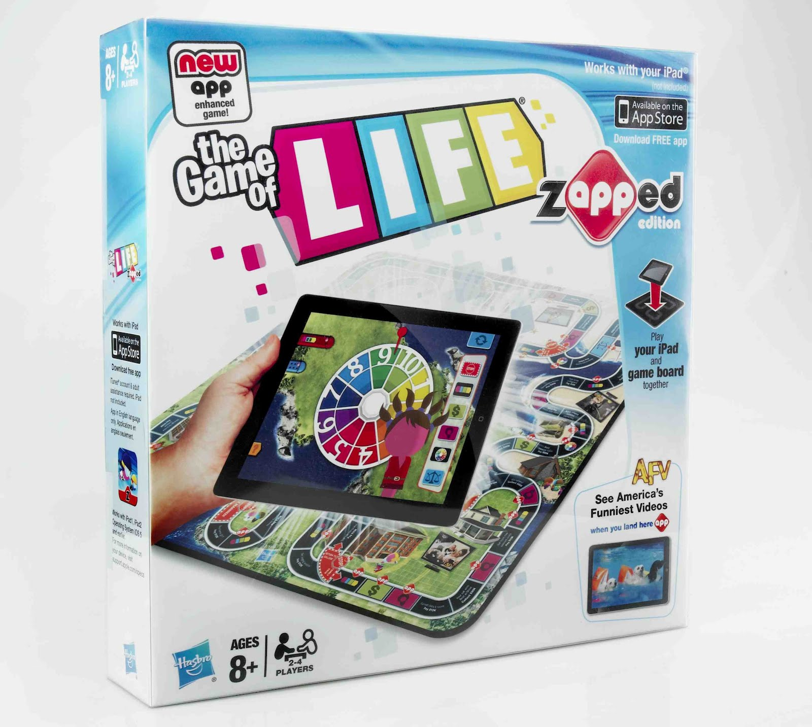 Thanks mail carrier the game of life zapped edition review the game of life zapped edition pronofoot35fo Images