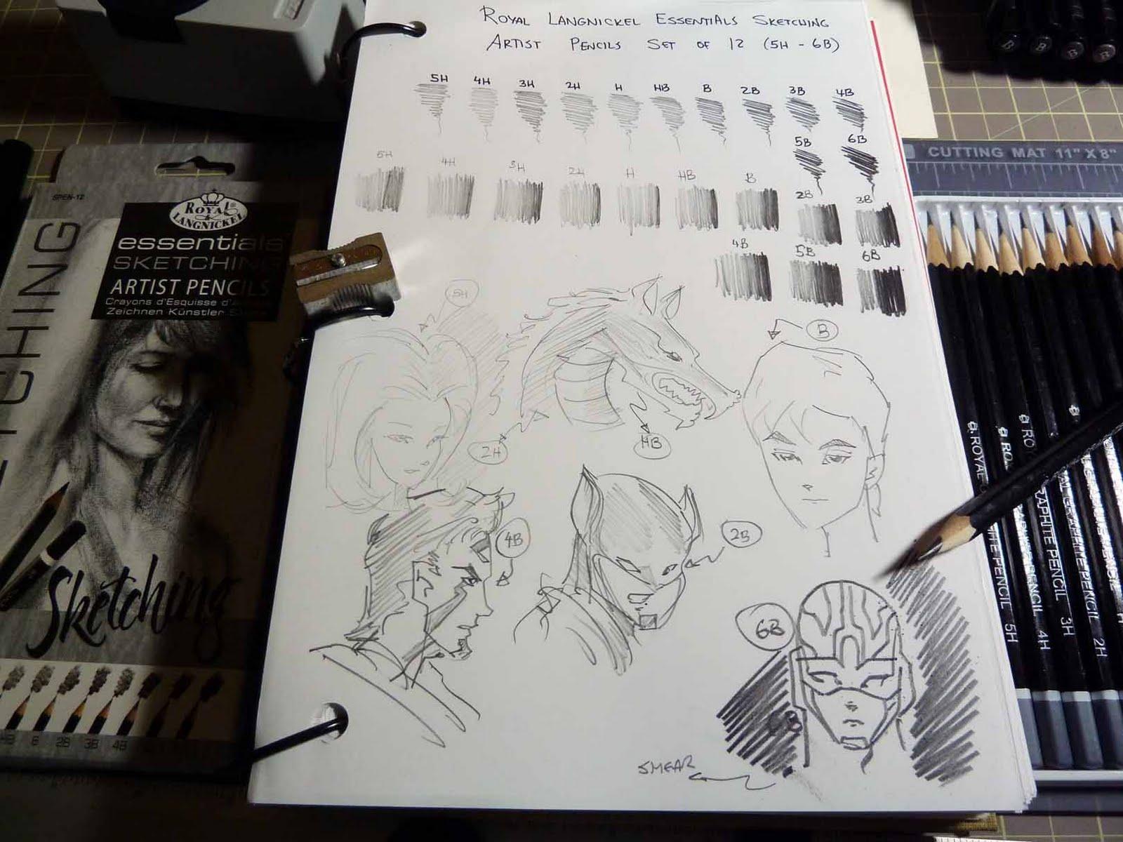 Royal langnickel sketching pencils set review art supplies reviews