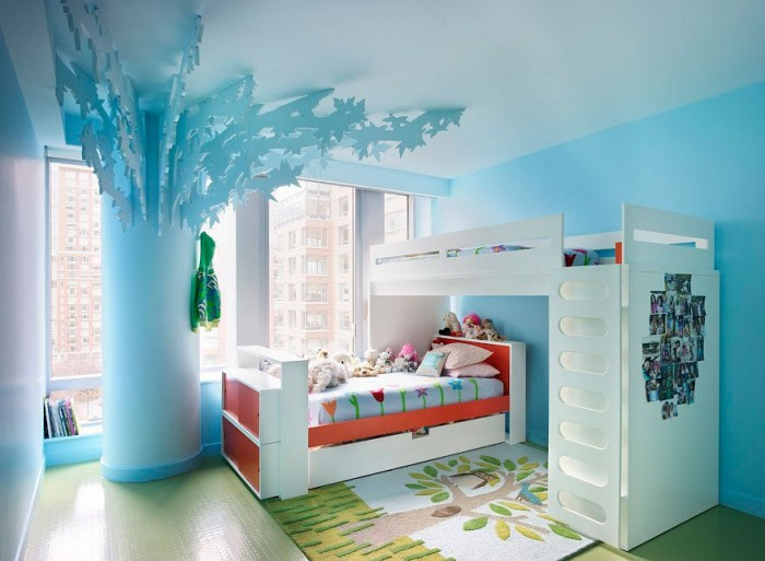 You Have To Use Your Imagination, In This Example A Ordinary Pillar Was  Turned Into A Tree With Just A Few Clever Decorations, The Bedroom Is  Designed For 2 ...