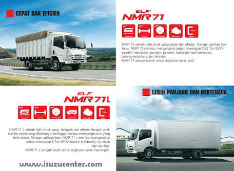 New ISUZU NMR 71 Kabin Model Baru