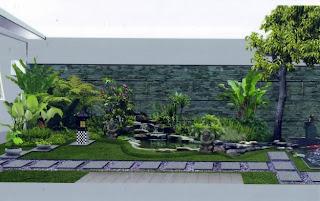 Cara Mudah Membuat Taman Rumah Sederhana