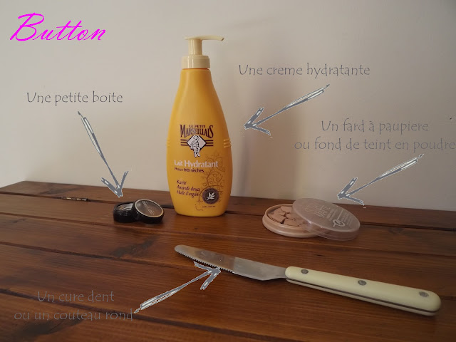 Diy comment cr e sa propre base paupi re miss button - Comment garder une vitre d insert propre ...