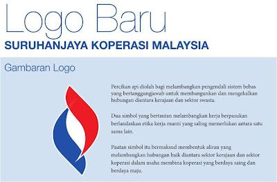 Wordless Wednesday #12 - Logo Baru Suruhanjaya Koperasi Malaysia