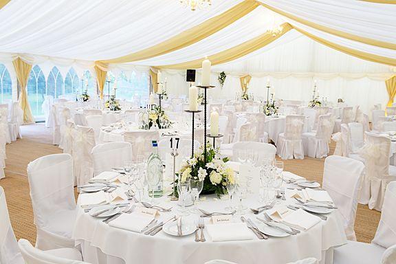 decoration salle mariage blanc