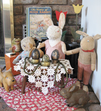 Early Easter Rabbits Display