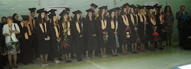 Absolvenți ai liceului în 2013