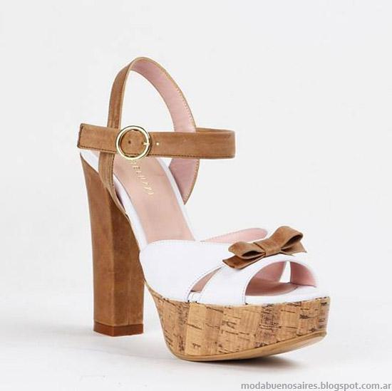 Sandalias primavera verano 2015. Moda zapatos primavera verano 2015.